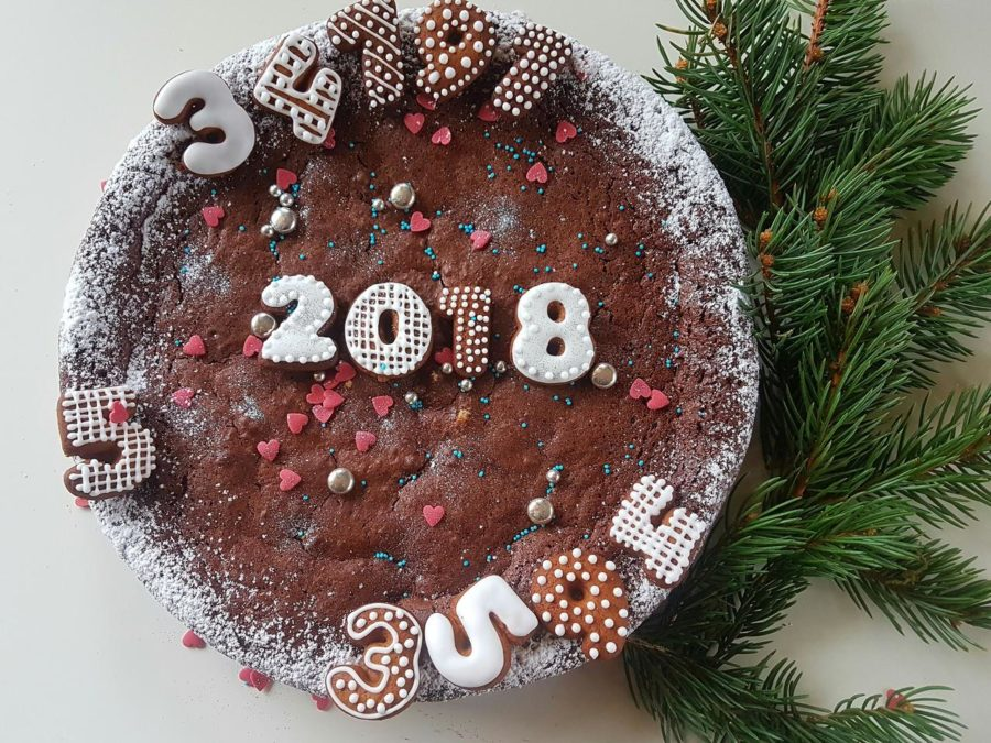ciasto mocno czekoladowe na rok 2018