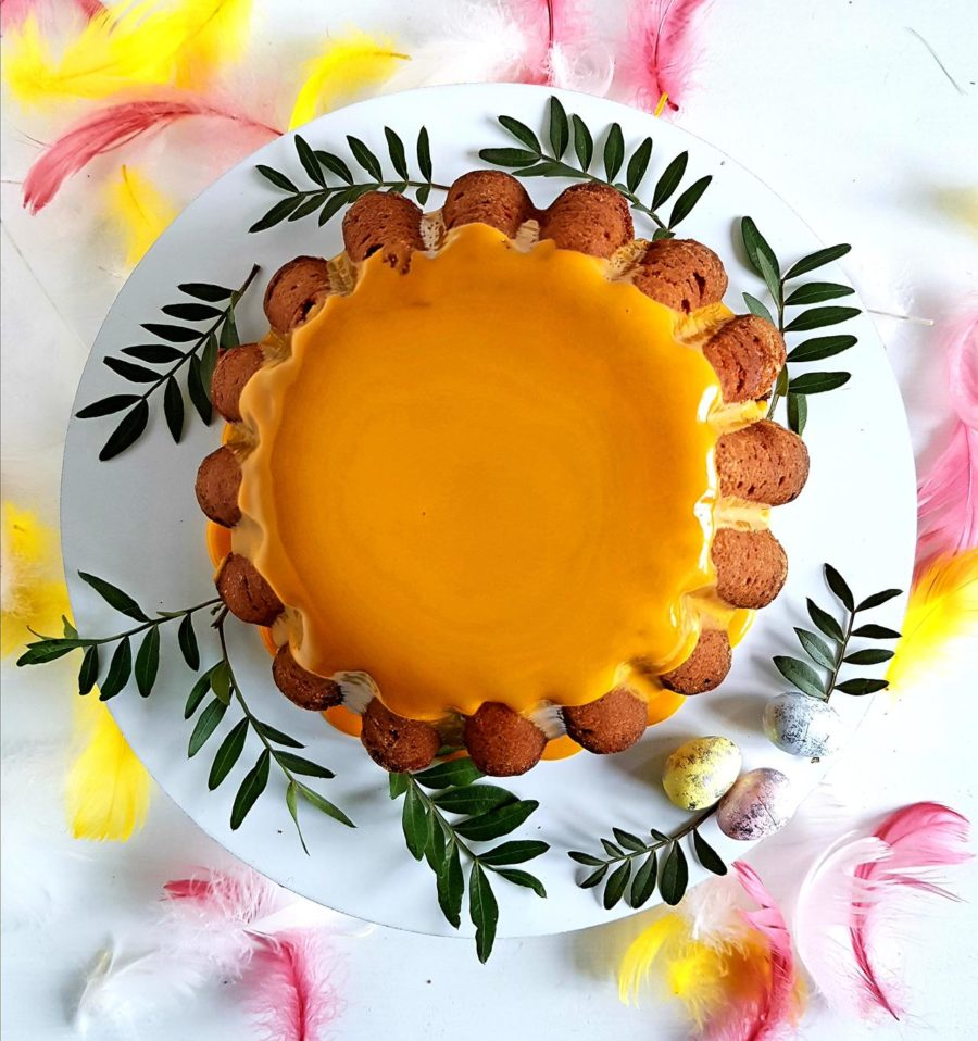 babka z mango i lukrem