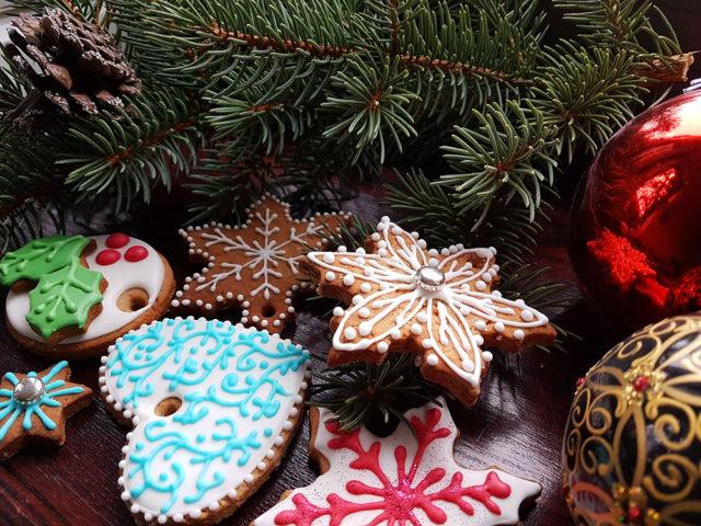 pierniczki świąteczne z choinką