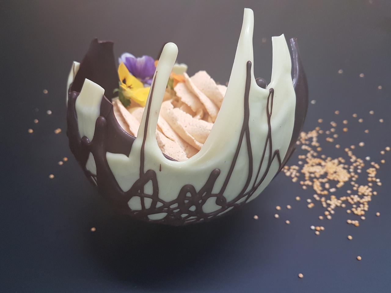 miseczka czekoladowa