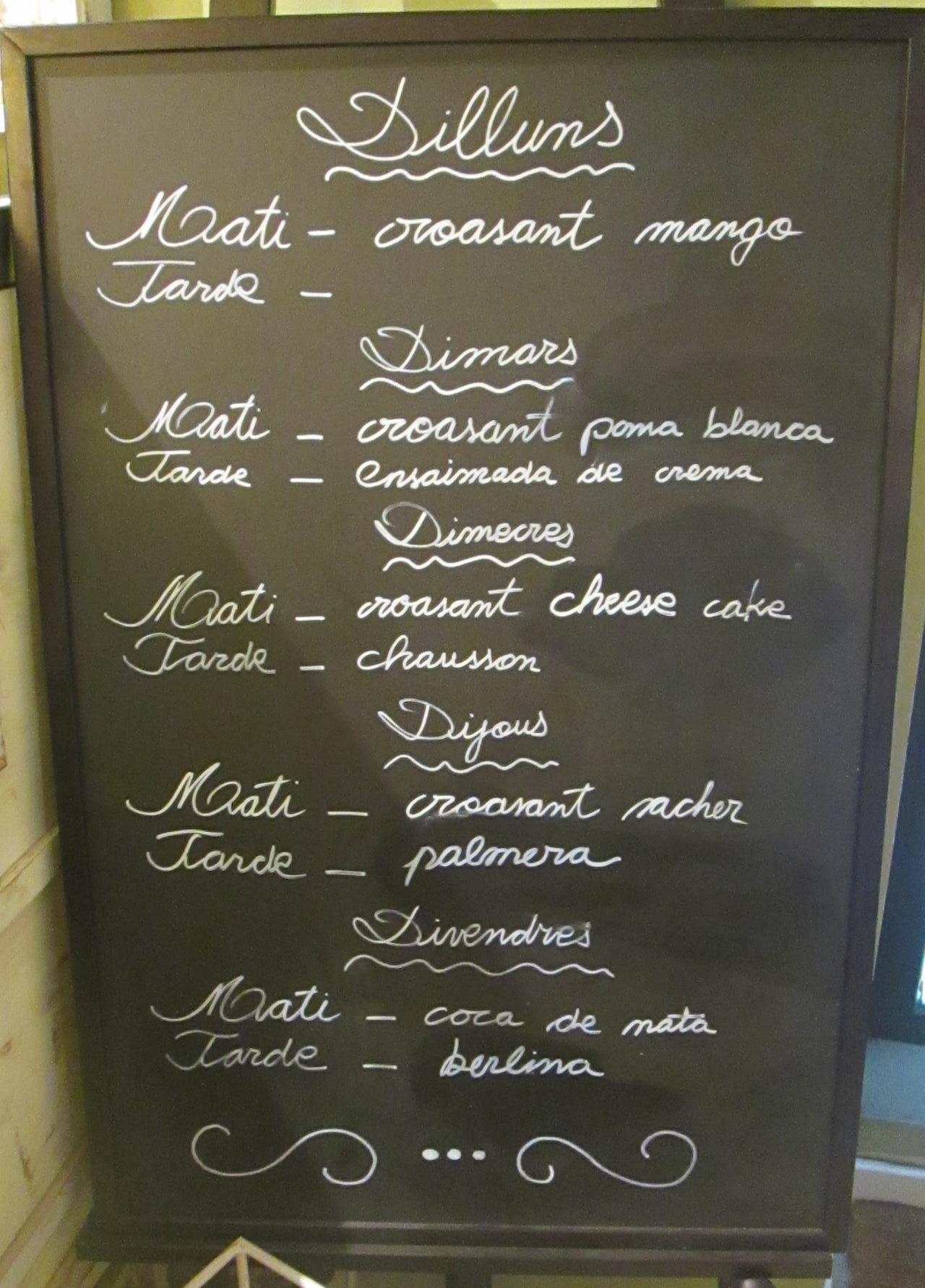 hofmann menu