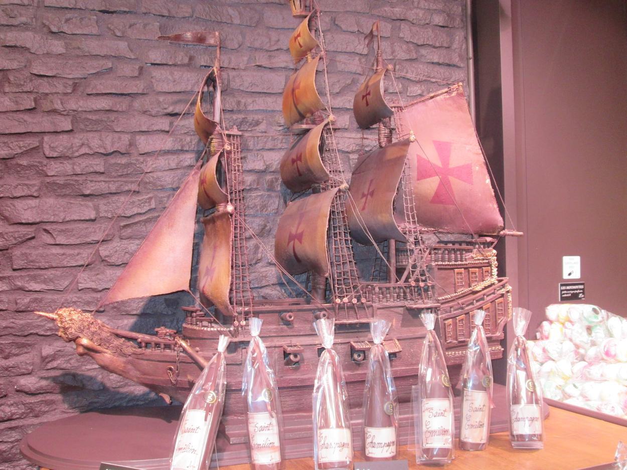 georges larnicol statek z czekolady