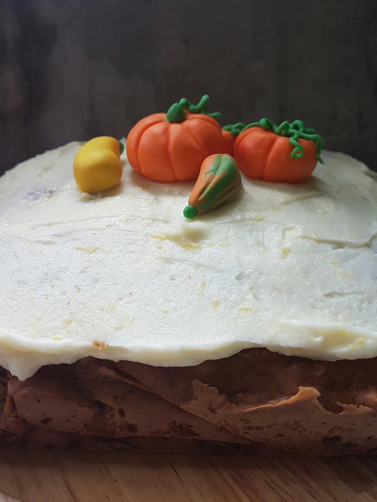 ciasto z dyni hokkaido z cynamonem
