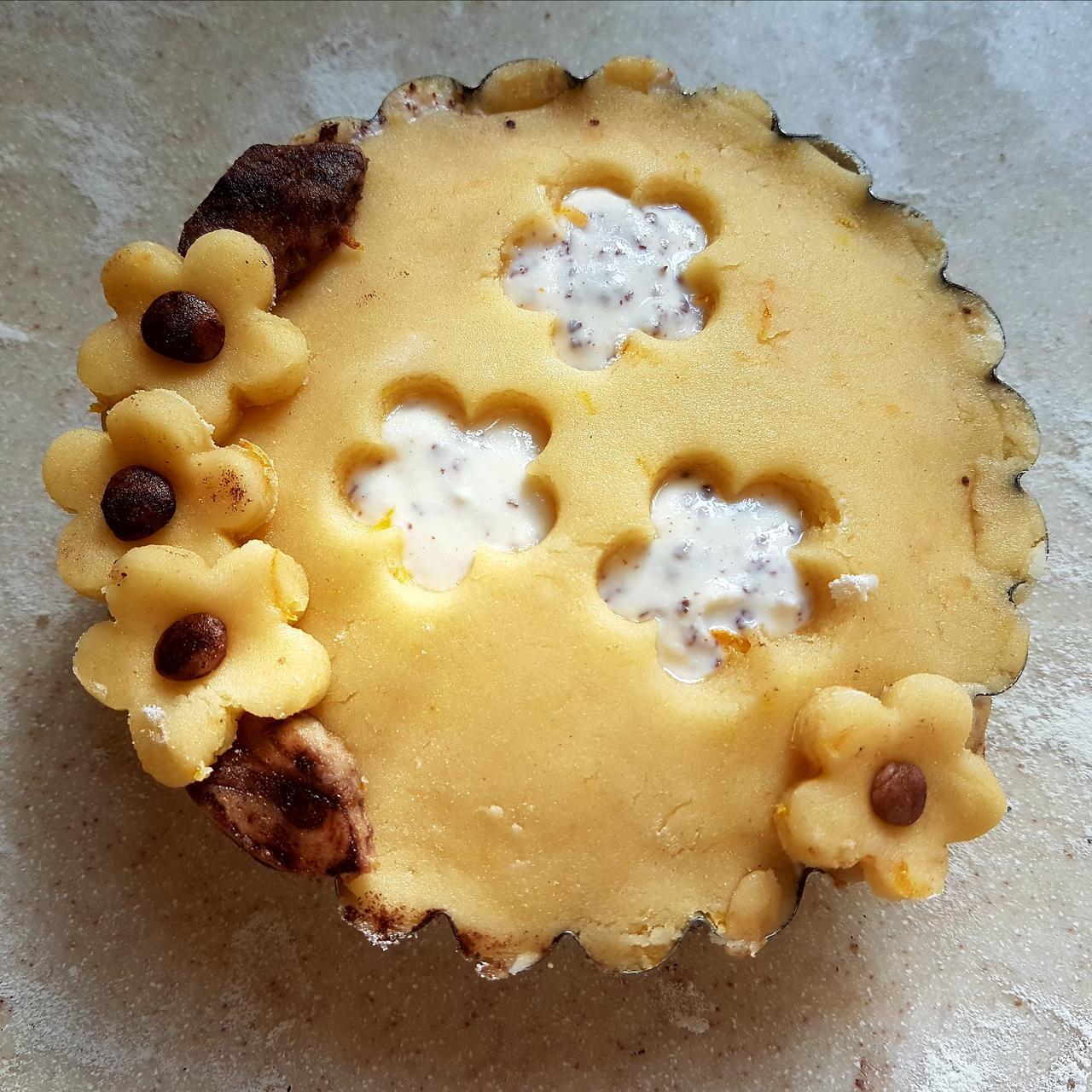 tartaletka ozdoby z ciasta kruchego