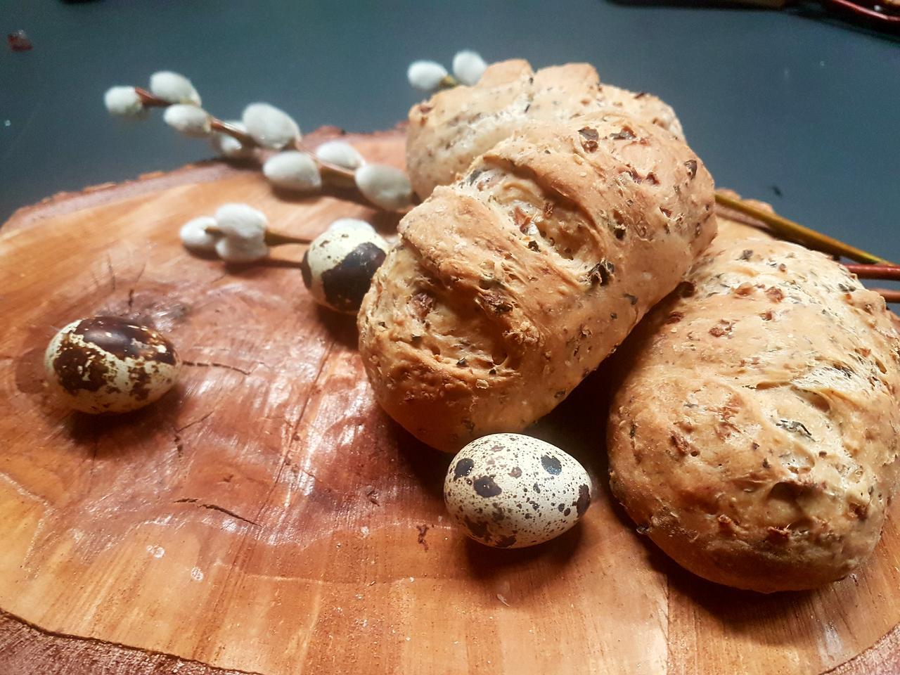 chlebki z oliwkami