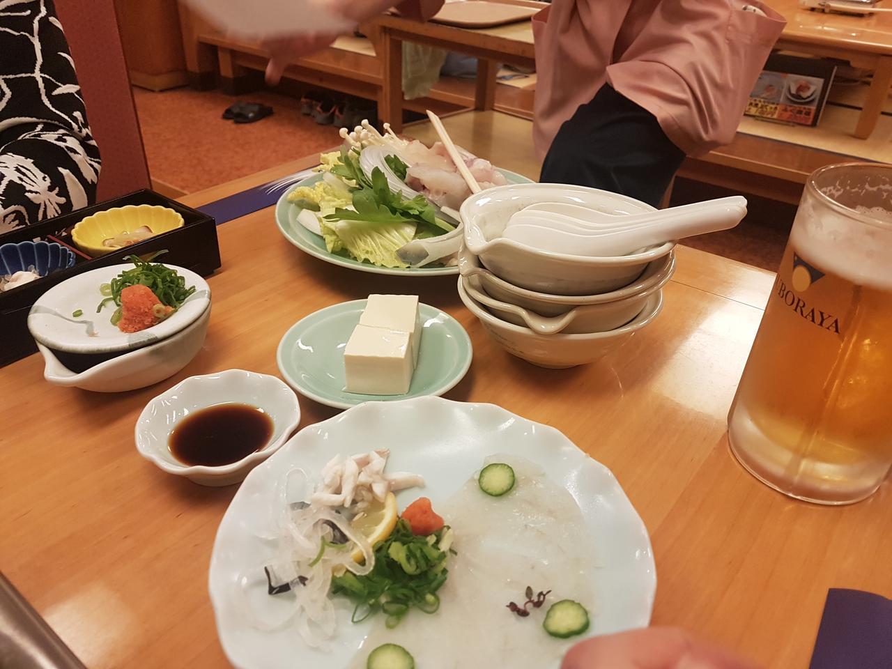 zestaw fugu Osaka