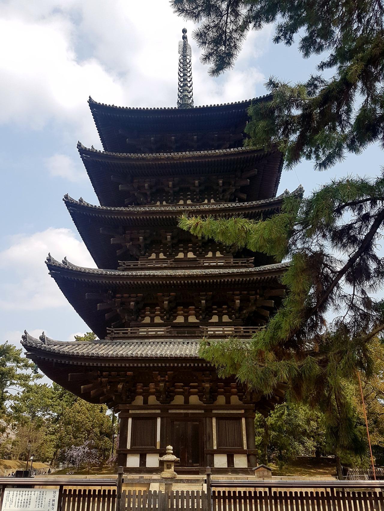 Nara pagoda Japonia