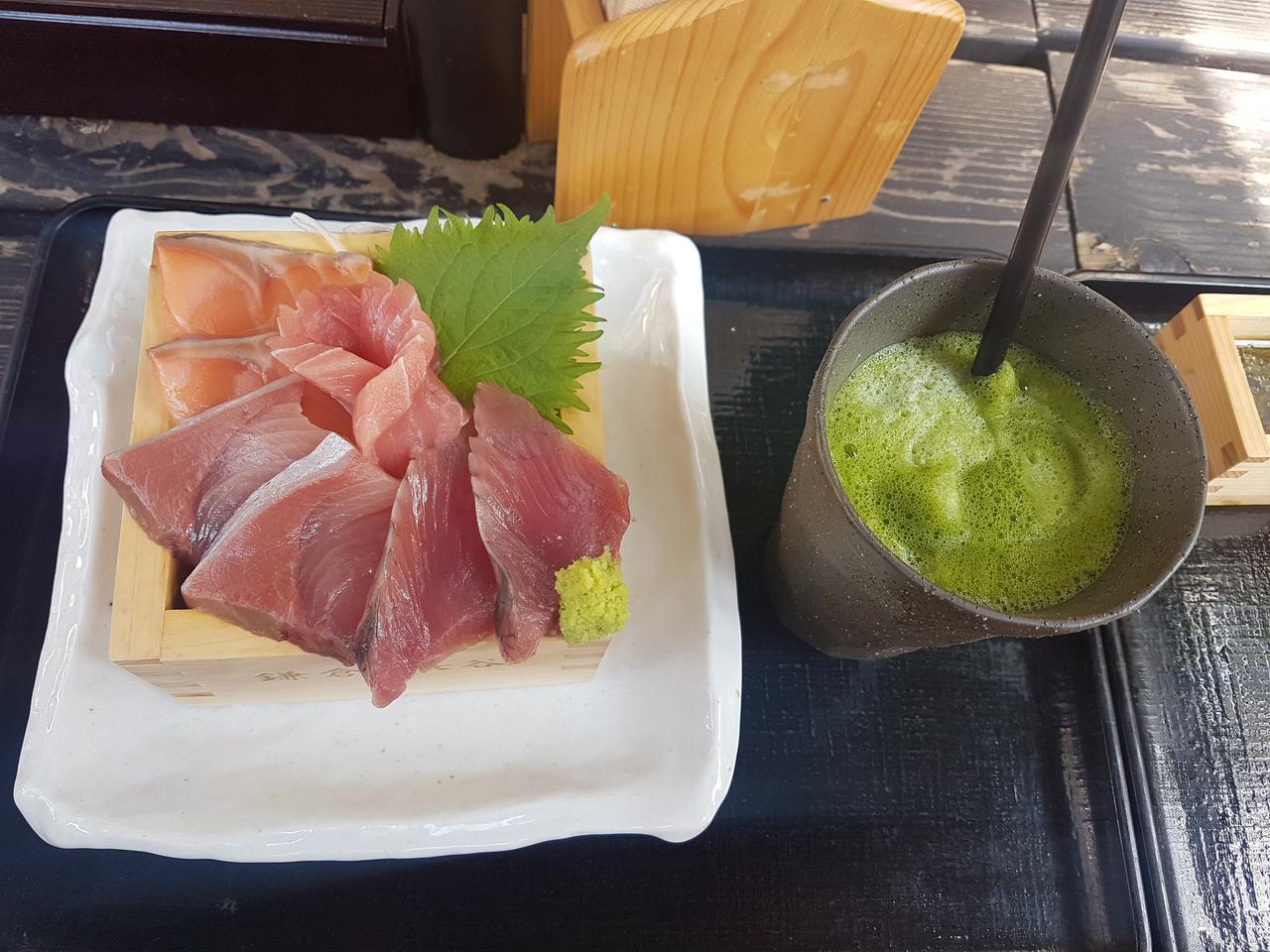 sashimi kuchnia japonska