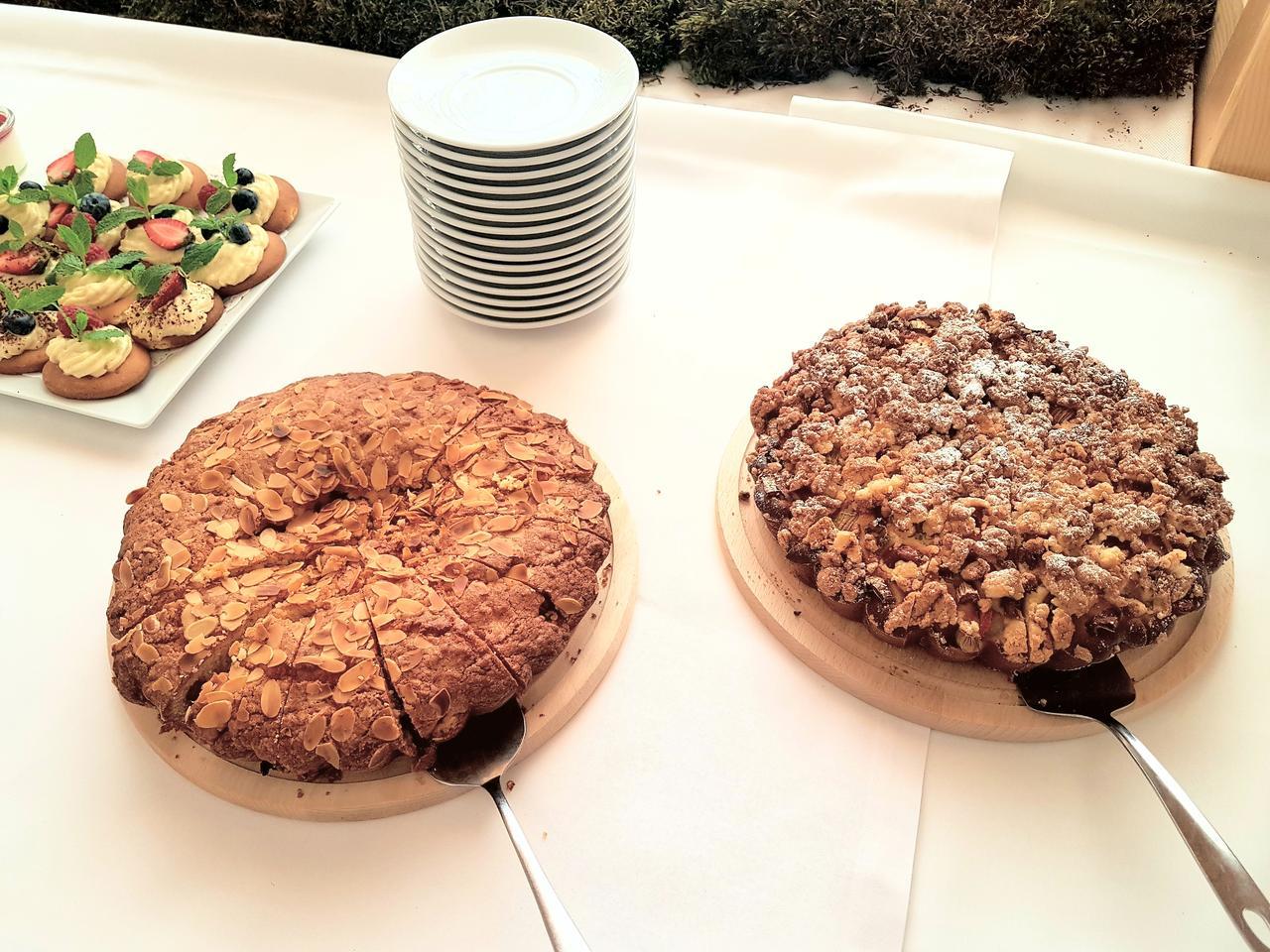ciasto drozdzowe i ciasto migdalowe Zalesie Mazury