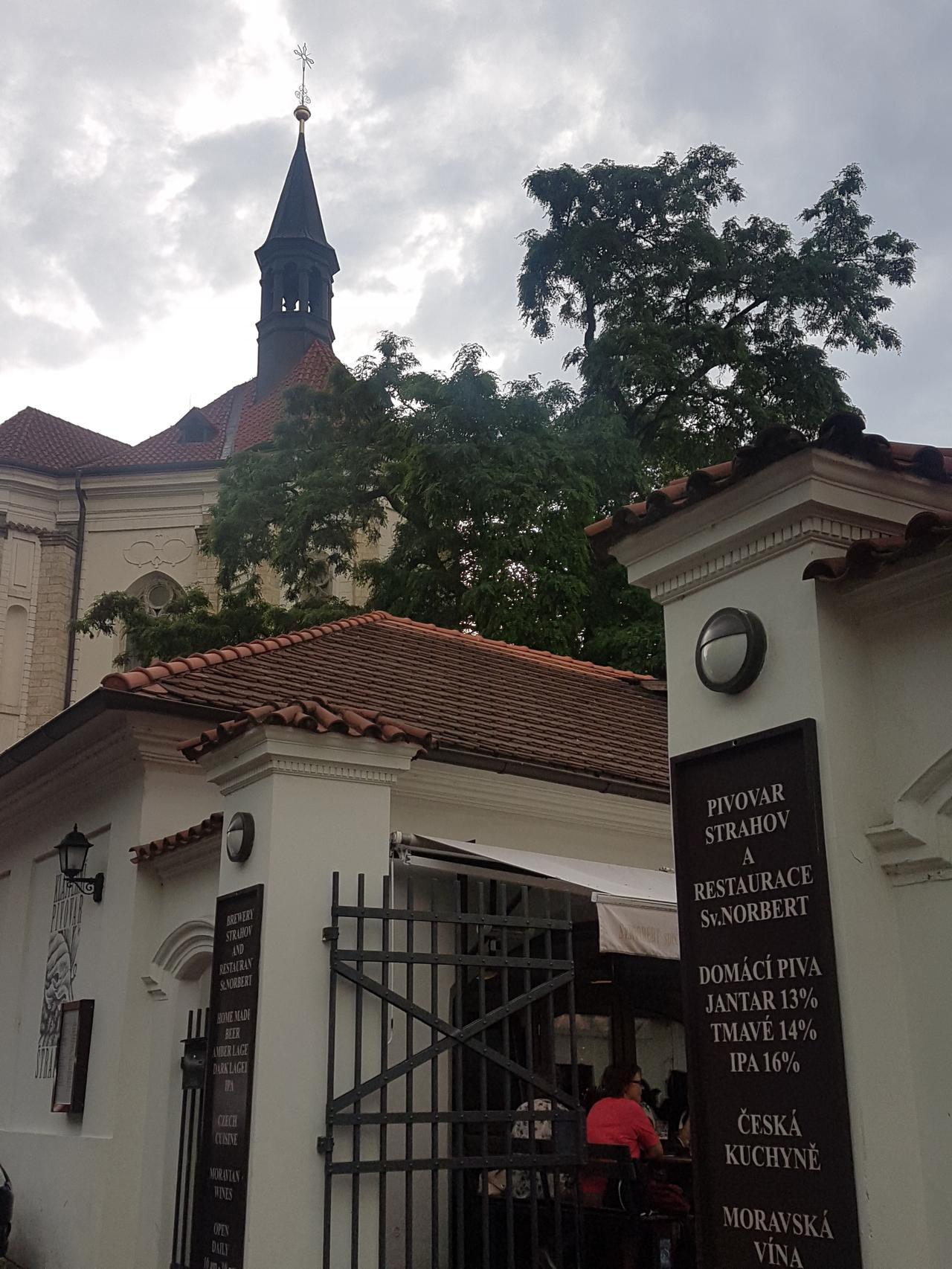Restauracja Sv Norbert Strahov