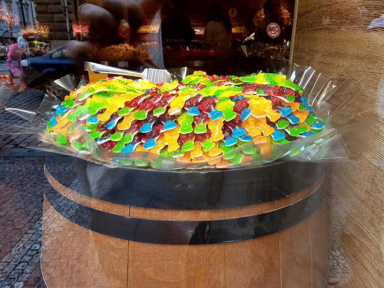 capitan candy Praga