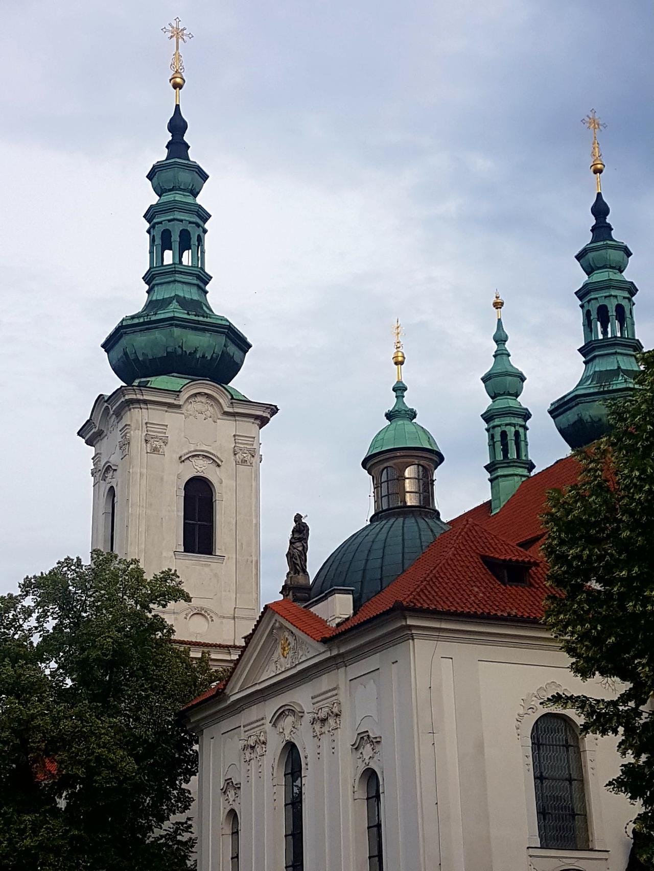 klasztor Strahov Praga