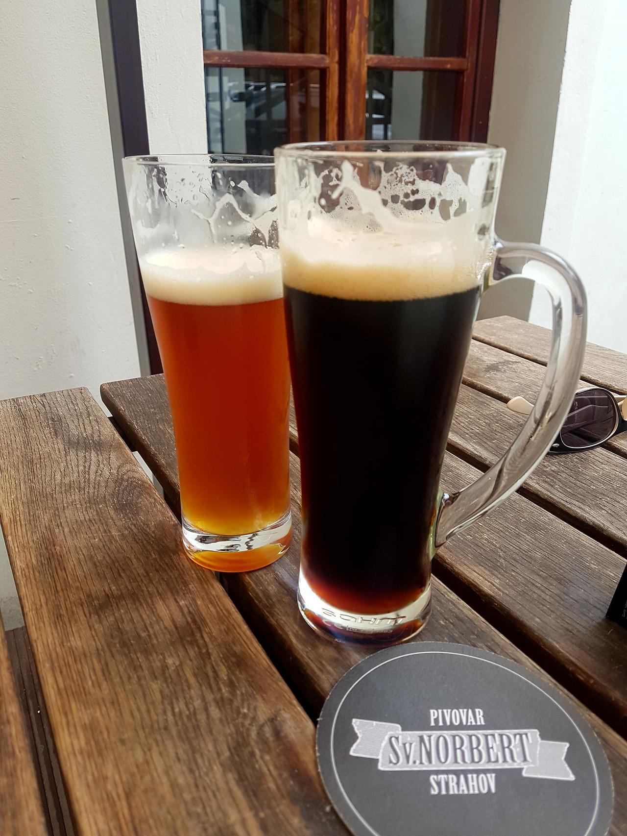 Piwo Strahov Praga