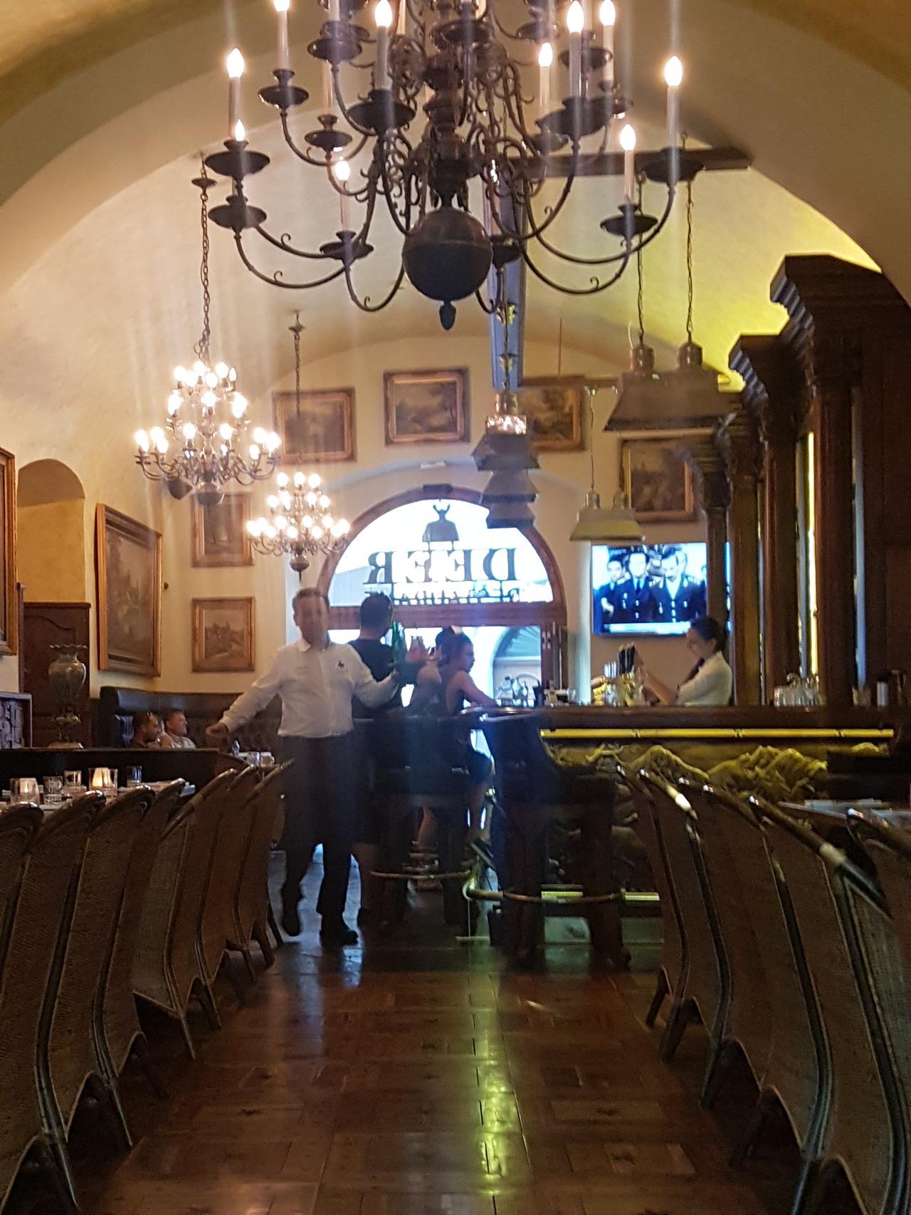 Restauracja Deer Praga