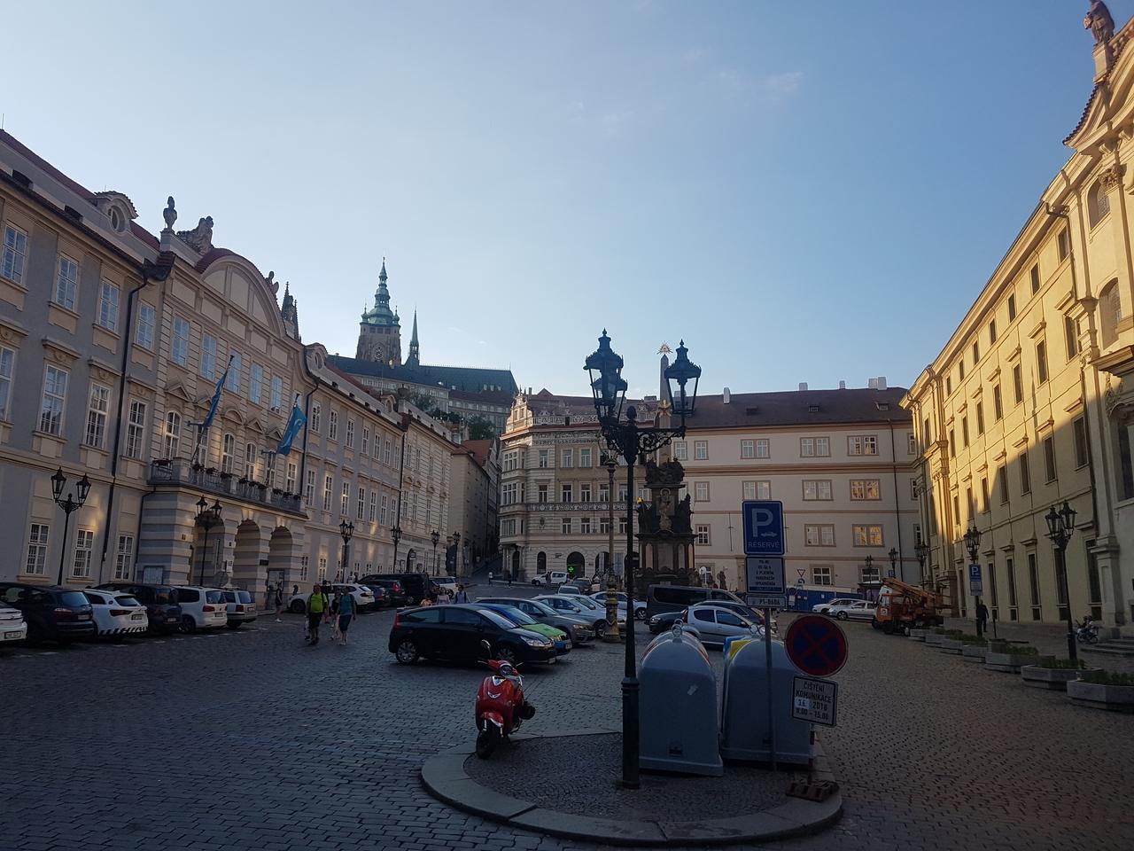 place Praga czeska