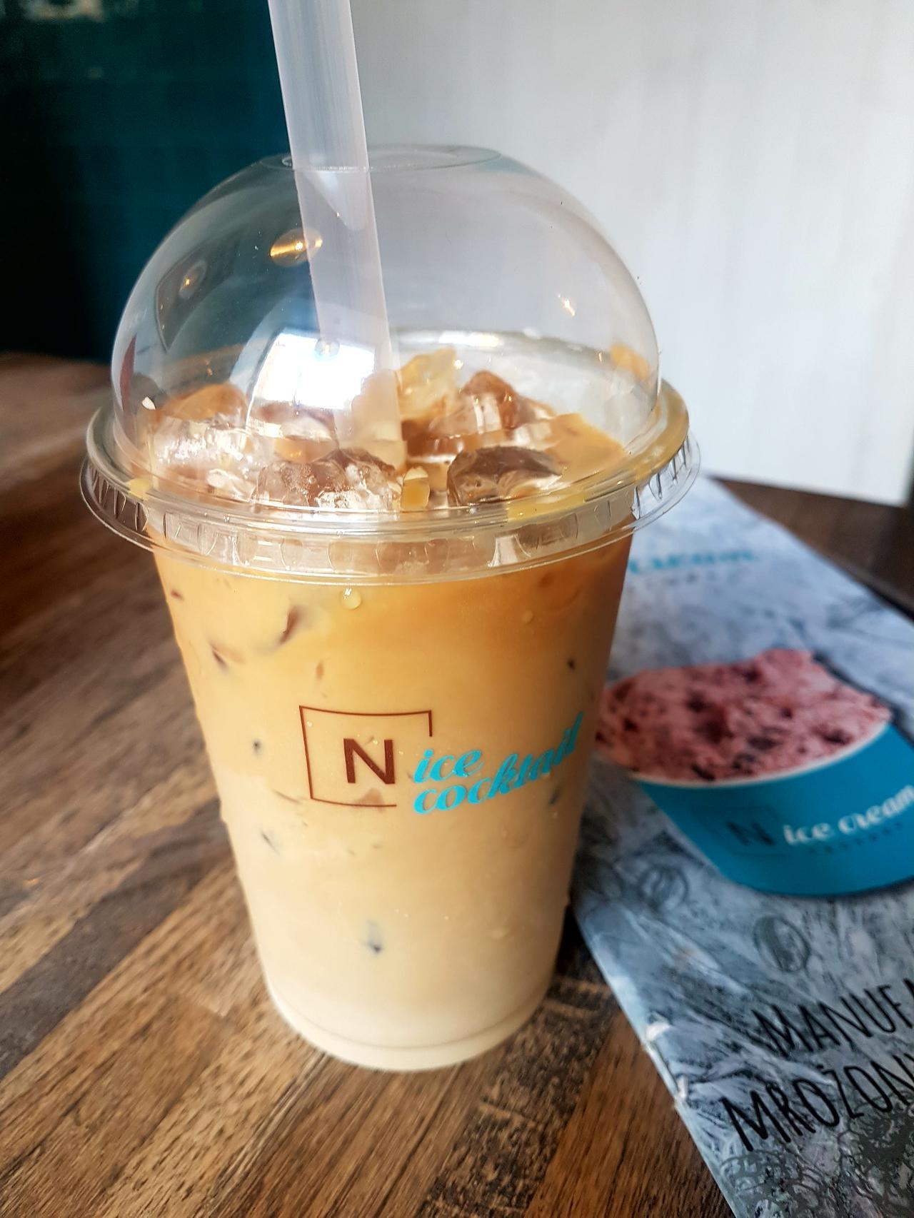Ice Latte w NiceCream Factory