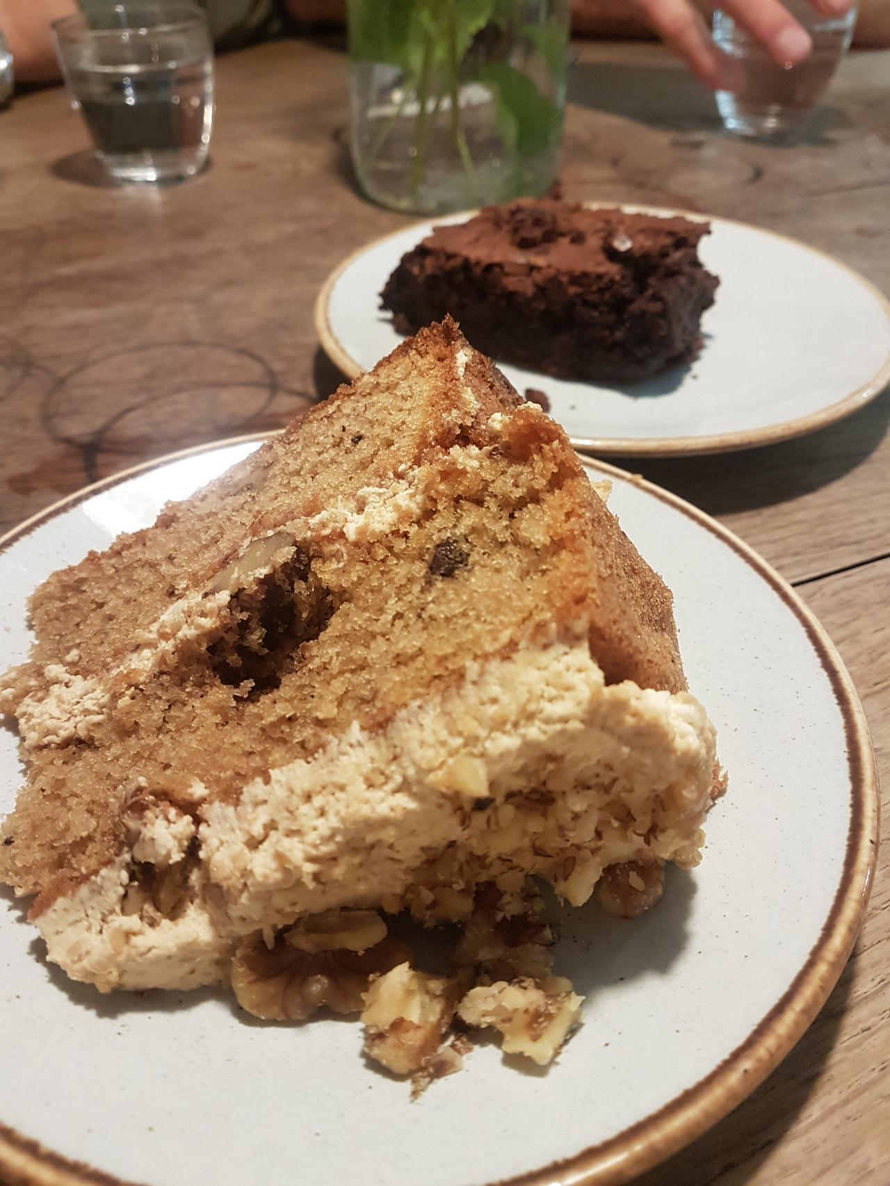 ciasto orzechowo-kawowe