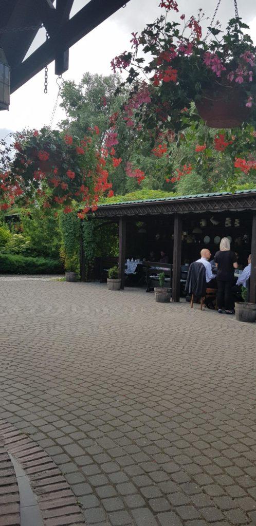 restauracja z zielonym piecem Olsztynek