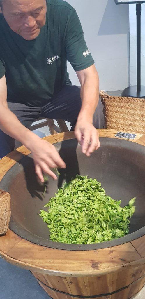 suszenie herbaty chiny
