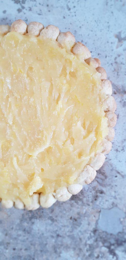 tarta z lemon curd