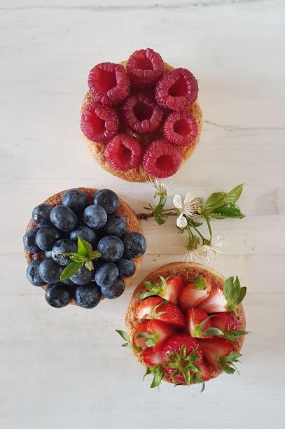 migdalowe tartoletki z owocami