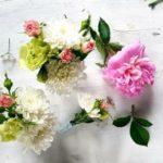 kwiaty na torcie