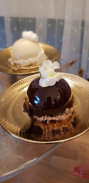 monoporcja kokos i czekolada