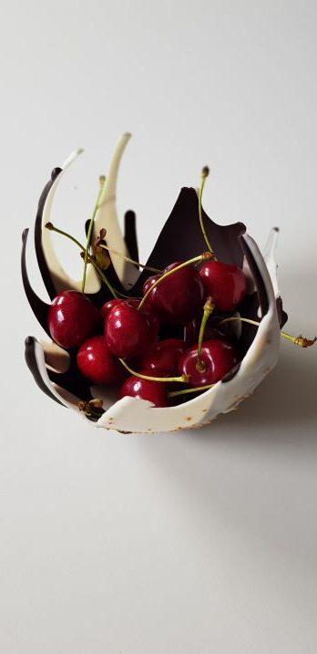miseczki czekoladowe