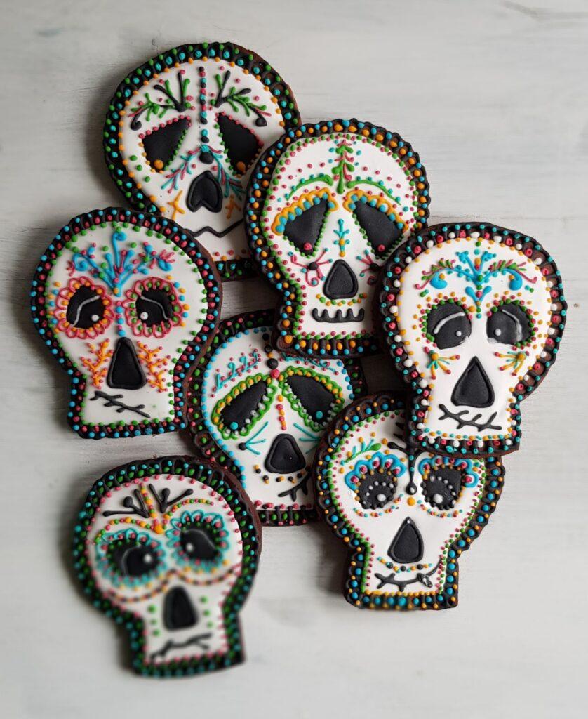 ciasteczka czaszki