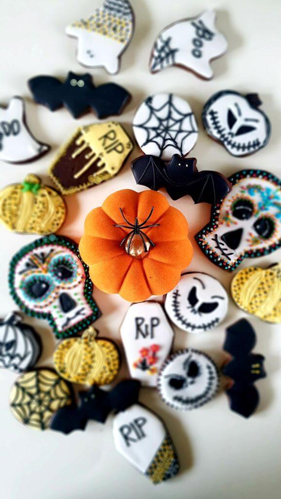 ciastka na halloween