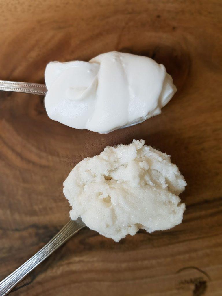mleko i śmietanka kokosowa roznice w konsystencji